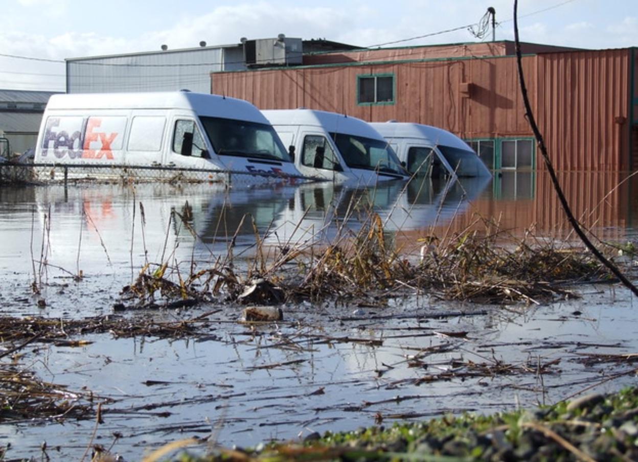 flood water damage long beach ca